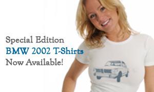 BMW 2002 T-shirts