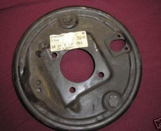 BMW 2002 NOS Rear Brake Backing Plate