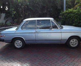1974 BMW 2002 tii Fjord Blue