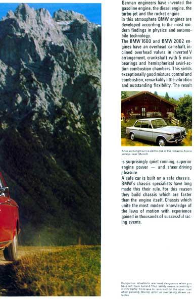BMW 1600/2002 Brochure p05