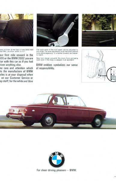 BMW 1600/2002 Brochure p14