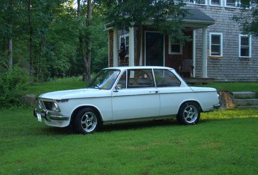 Harry Seidel 1967 BMW 1600