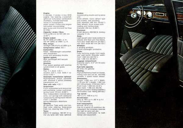 Page 11 : BMW 1800 Brochure