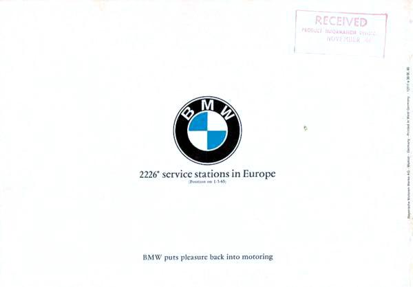 Page 18 : BMW 1800 Brochure