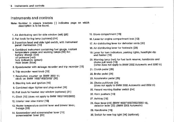 Page 8 : BMW 2002 Brochure