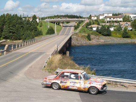 1969 BMW 2002 Wins Targa Newfoundland