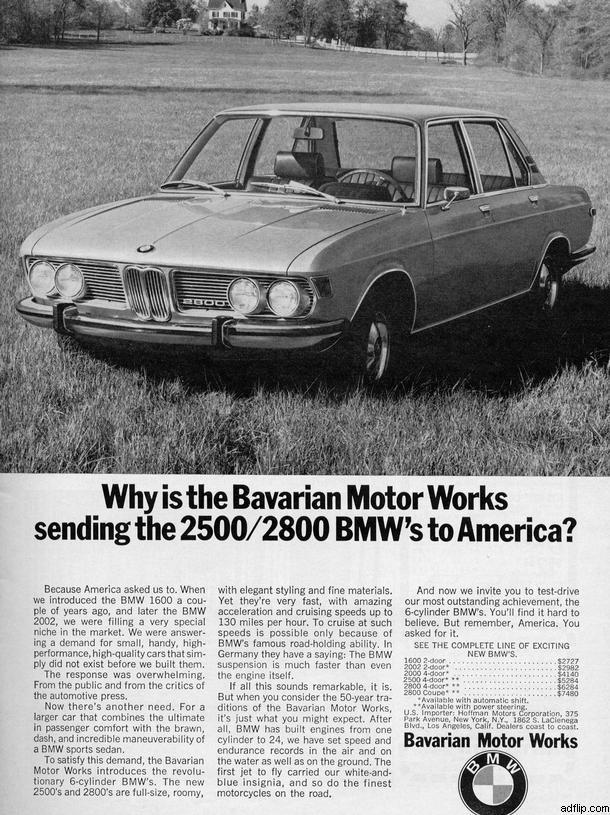 Bavaria Motor Works Print Ad