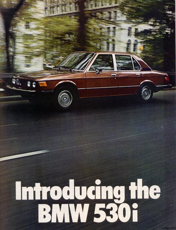 BMW 530i Print Ad