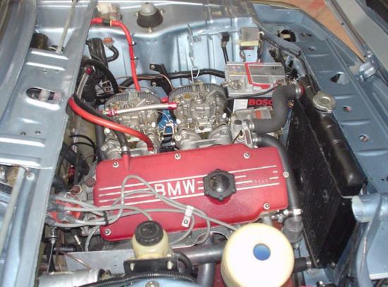 Typical Twin Carburetor Setup